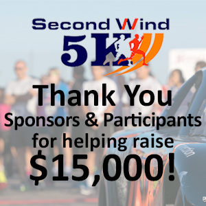 Thank you - Second Wind 5k